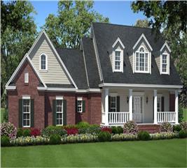 House Plan #141-1007
