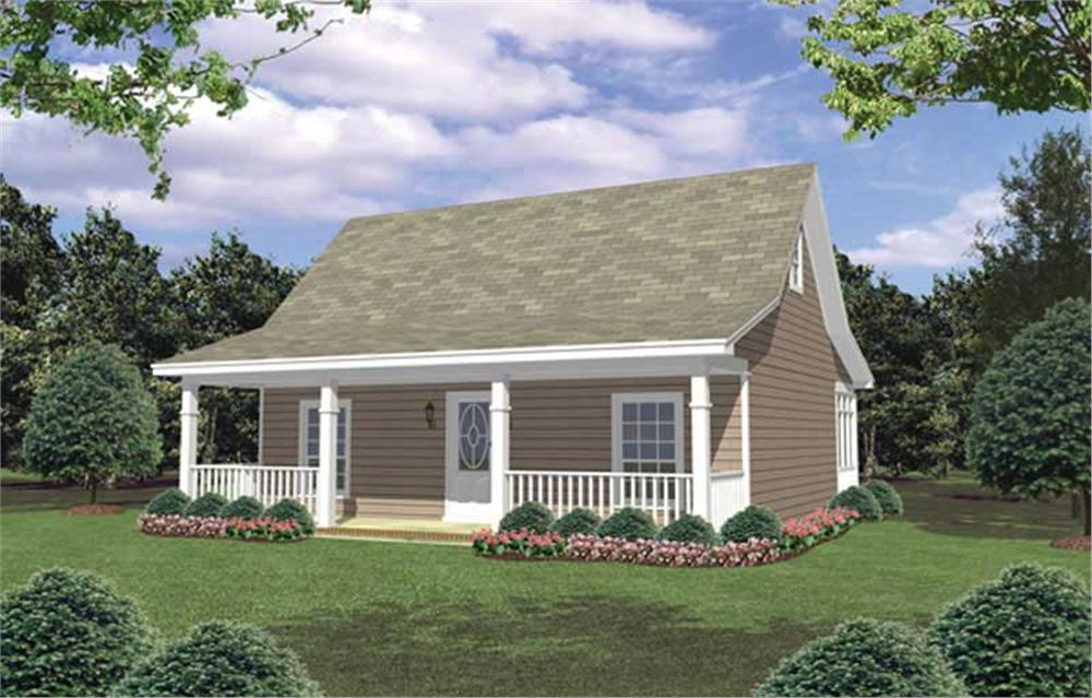 Main image for house plan # 16266