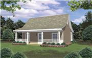 View house Plan#141-1008