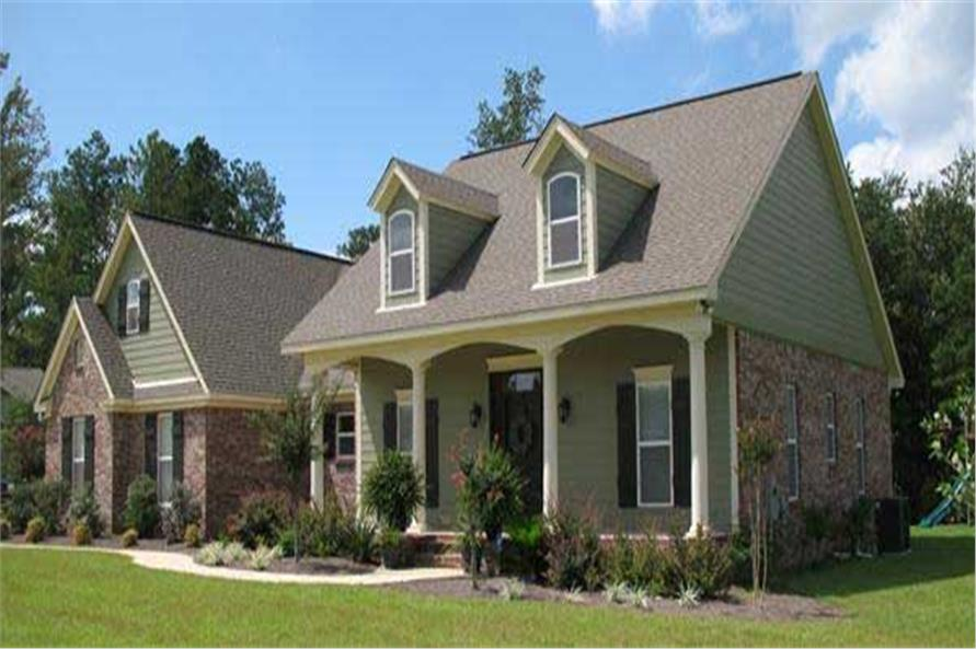 Right Side View of this 3-Bedroom,1800 Sq Ft Plan -1800