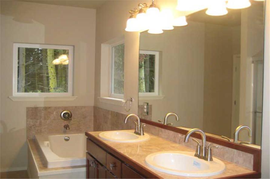 141-1020: Home Interior Photograph-Master Bathroom