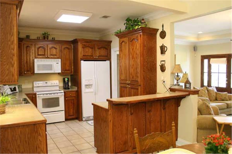 141-1020: Home Interior Photograph-Kitchen