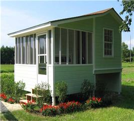 House Plan #141-1021
