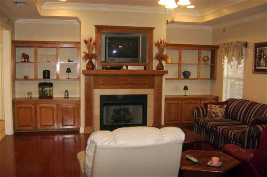 Family Room of this 3-Bedroom,2000 Sq Ft Plan -2000