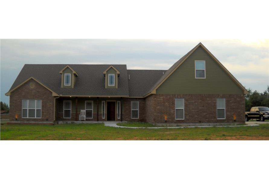 Home Exterior Photograph of this 3-Bedroom,2000 Sq Ft Plan -2000