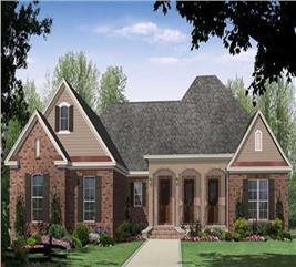 House Plan #141-1025