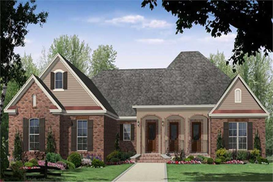 Main Image for European Country Home Plan #141-1025