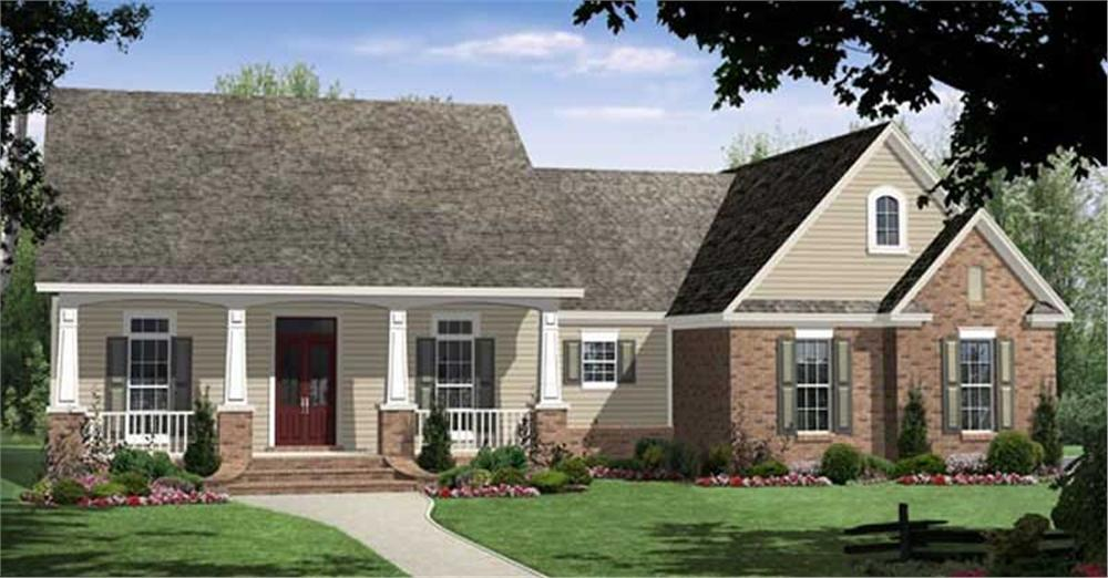 Main image for house plan # 16931