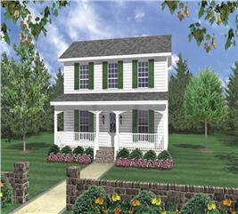 House Plan #141-1031