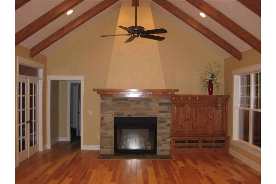 Great Room: Fireplace of this 4-Bedroom,2800 Sq Ft Plan -141-1038