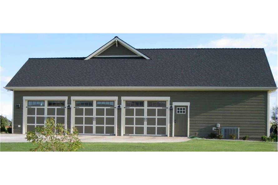 Garage of this 4-Bedroom,2800 Sq Ft Plan -141-1038