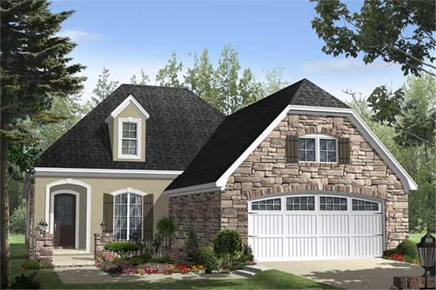 French Country European House Plans Home Design Hpg