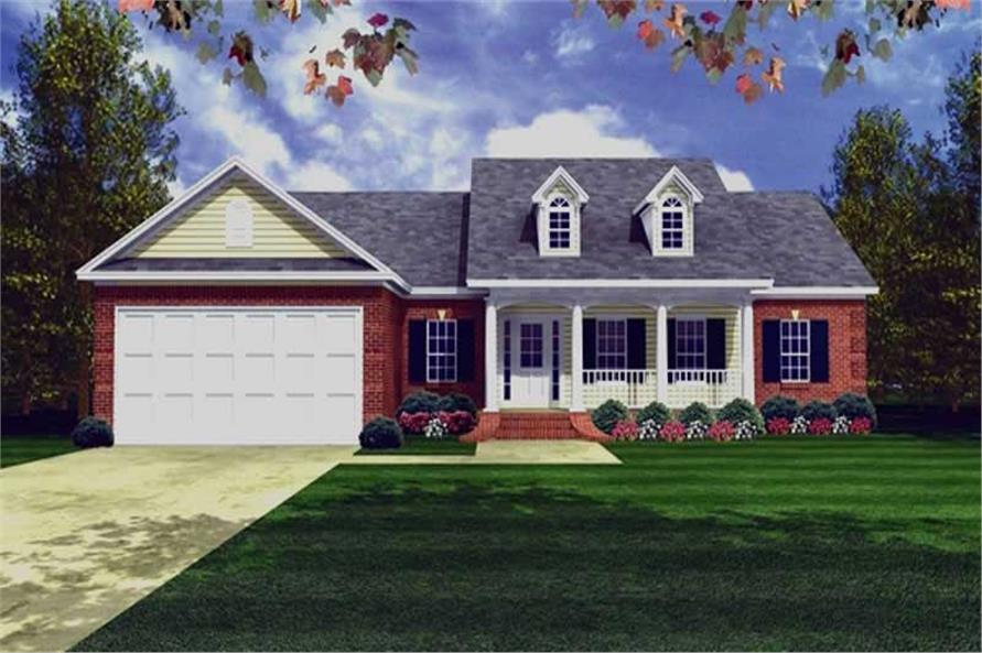 Main image for house plan # 16271