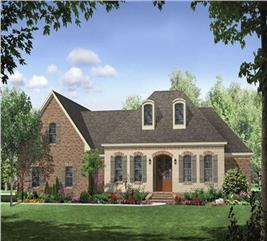 House Plan #141-1053