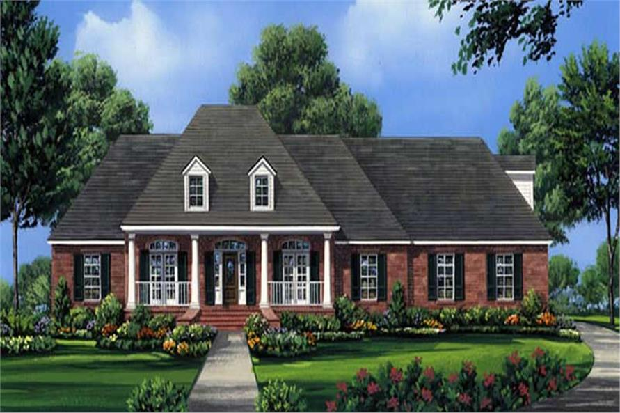 Main image for house plan # 20668
