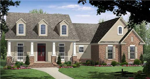 Main image for house plan # 16291
