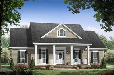 Main image for house plan #141-1061