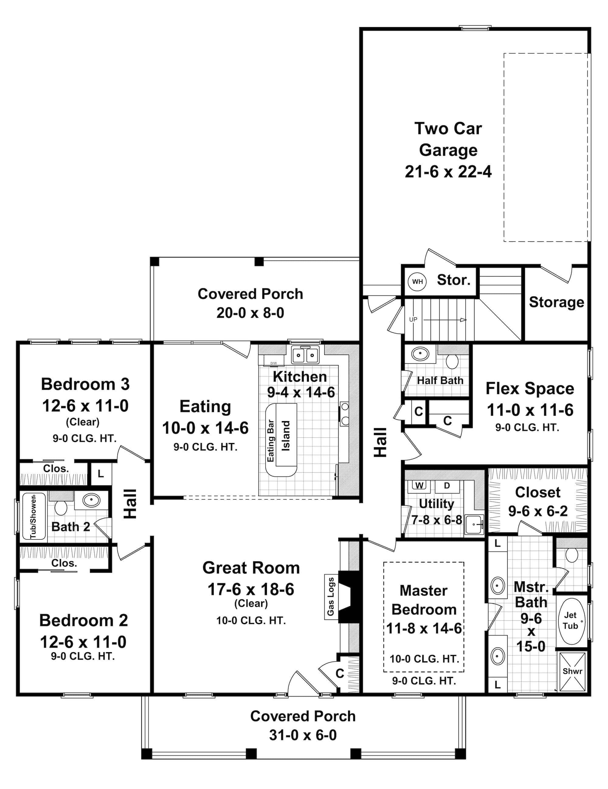 Plan1411061Image_13_2_2018_1418_56 Ranch Home Floor Plans Square Feet on 1800 mansions floor plans, 2 car garage floor plans, bedroom floor plans, two bath floor plans, 1 car garage floor plans,