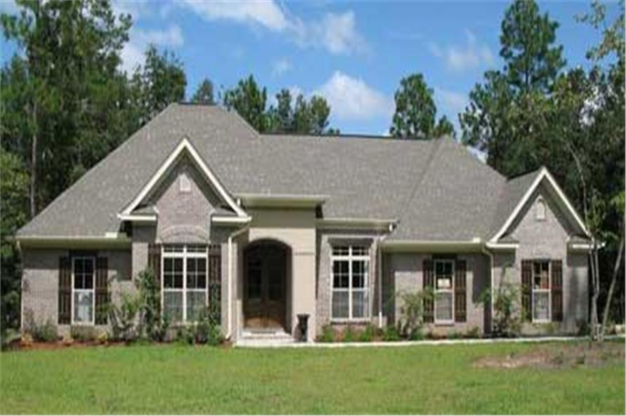 Home Exterior Photograph of this 3-Bedroom,2350 Sq Ft Plan -141-1062