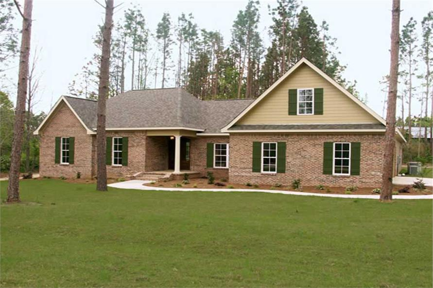 4-Bedroom, 2202 Sq Ft Country Home Plan - 141-1063 - Main Exterior