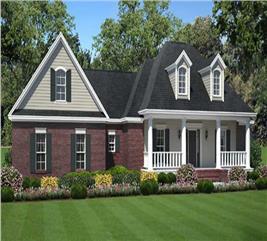 House Plan #141-1066