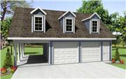 View house Plan#141-1068