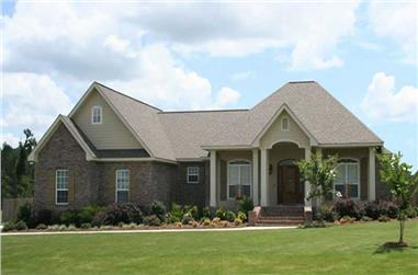 4-Bedroom, 2100 Sq Ft Acadian House Plan - 141-1071 - Front Exterior