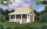 View house Plan#141-1076