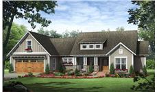Country Home Plans HPG-1800-7 Main Elevation