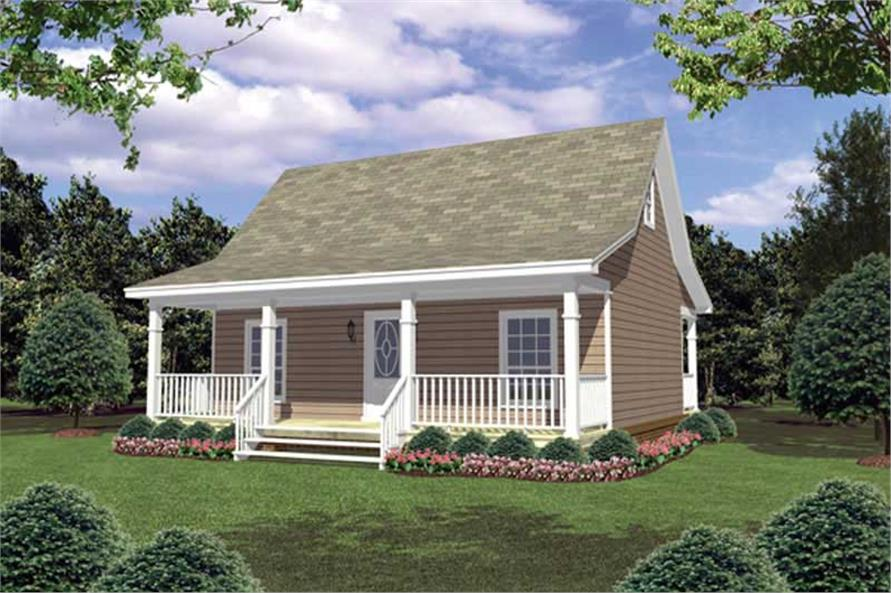 Main image for house plan # 16261