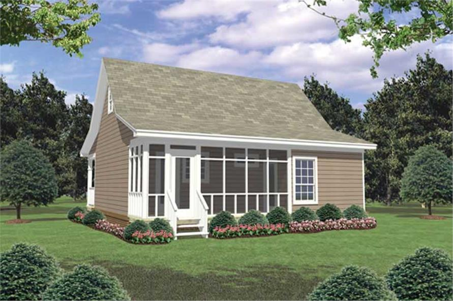 small house plans with screened porch home design and style