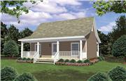 View house Plan#141-1079