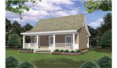 Main image for house plan # 16256