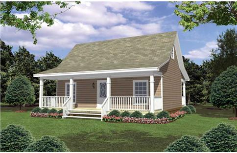 Main image for house plan # 141-1079