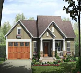 House Plan #141-1081