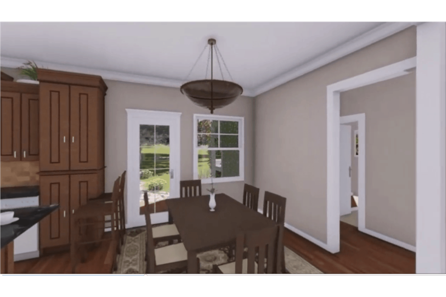 Dining Room of this 3-Bedroom,1604 Sq Ft Plan -1604