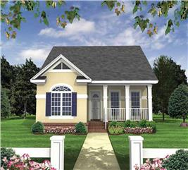 House Plan #141-1083