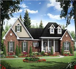 House Plan #141-1084