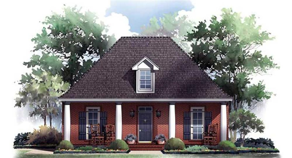 Main image for house plan # 16920