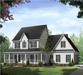 House Plan #141-1092