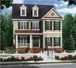 House Plan #141-1093