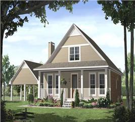 House Plan #141-1101
