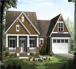 House Plan #141-1115