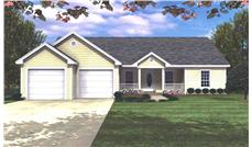 Main image for house plan # 7828