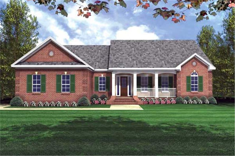 Main image for house plan # 7839