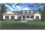 Main image for house plan # 7845