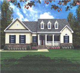 House Plan #141-1120