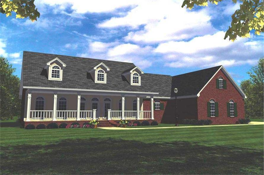 Main image for house plan # 7856