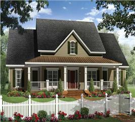 House Plan #141-1125