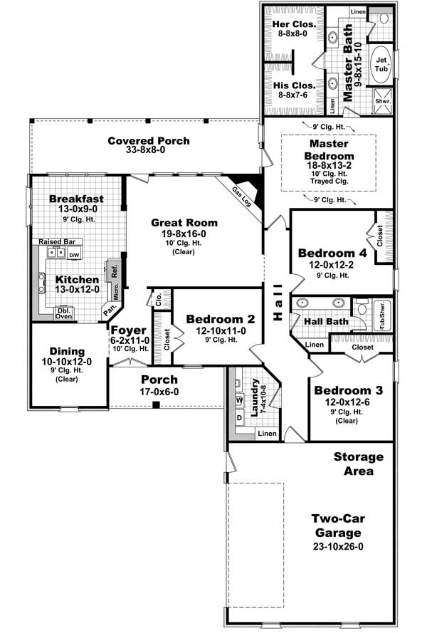 European home plans home design 2300 for 2300 square foot house plans